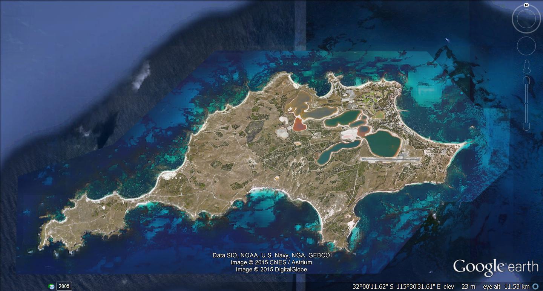 Marine Map Rottnest Island